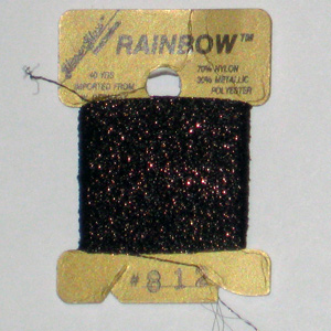 Rainbow Blending Thread: Dark Brown  Cross Stitch