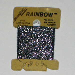 Rainbow Blending Thread: Gunmetal Grey  Cross Stitch